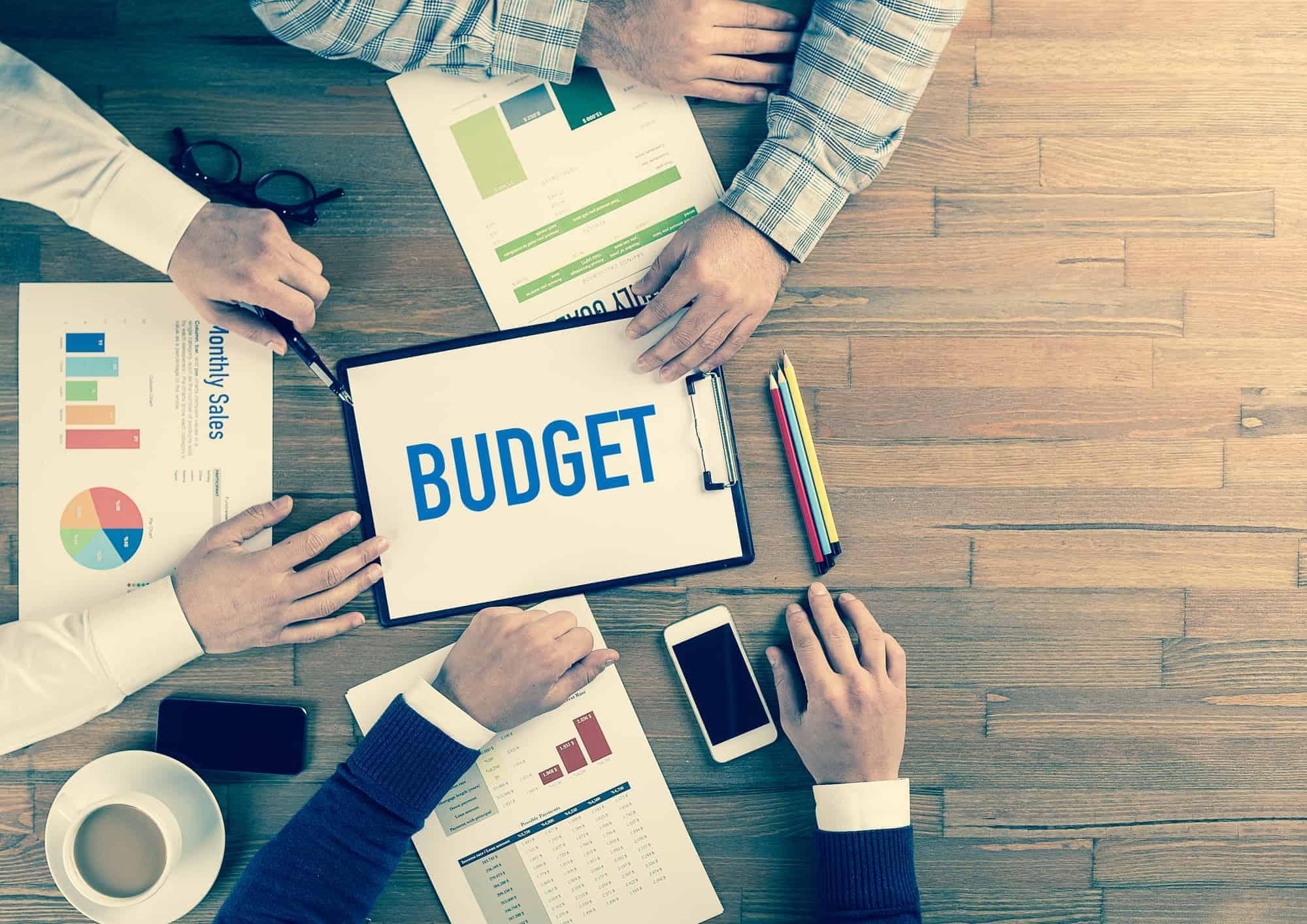 Business Team Concept: Budget