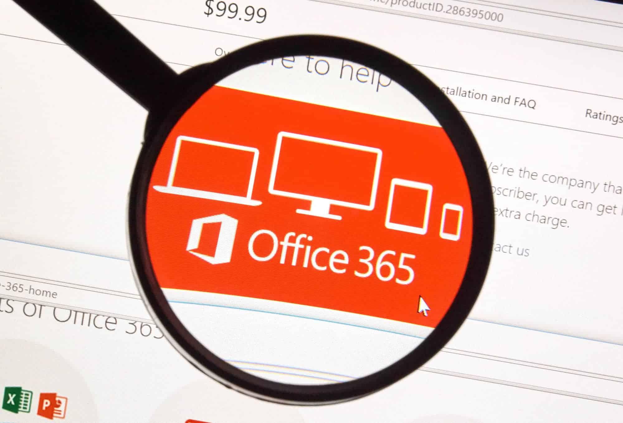 Microsoft Office Software.