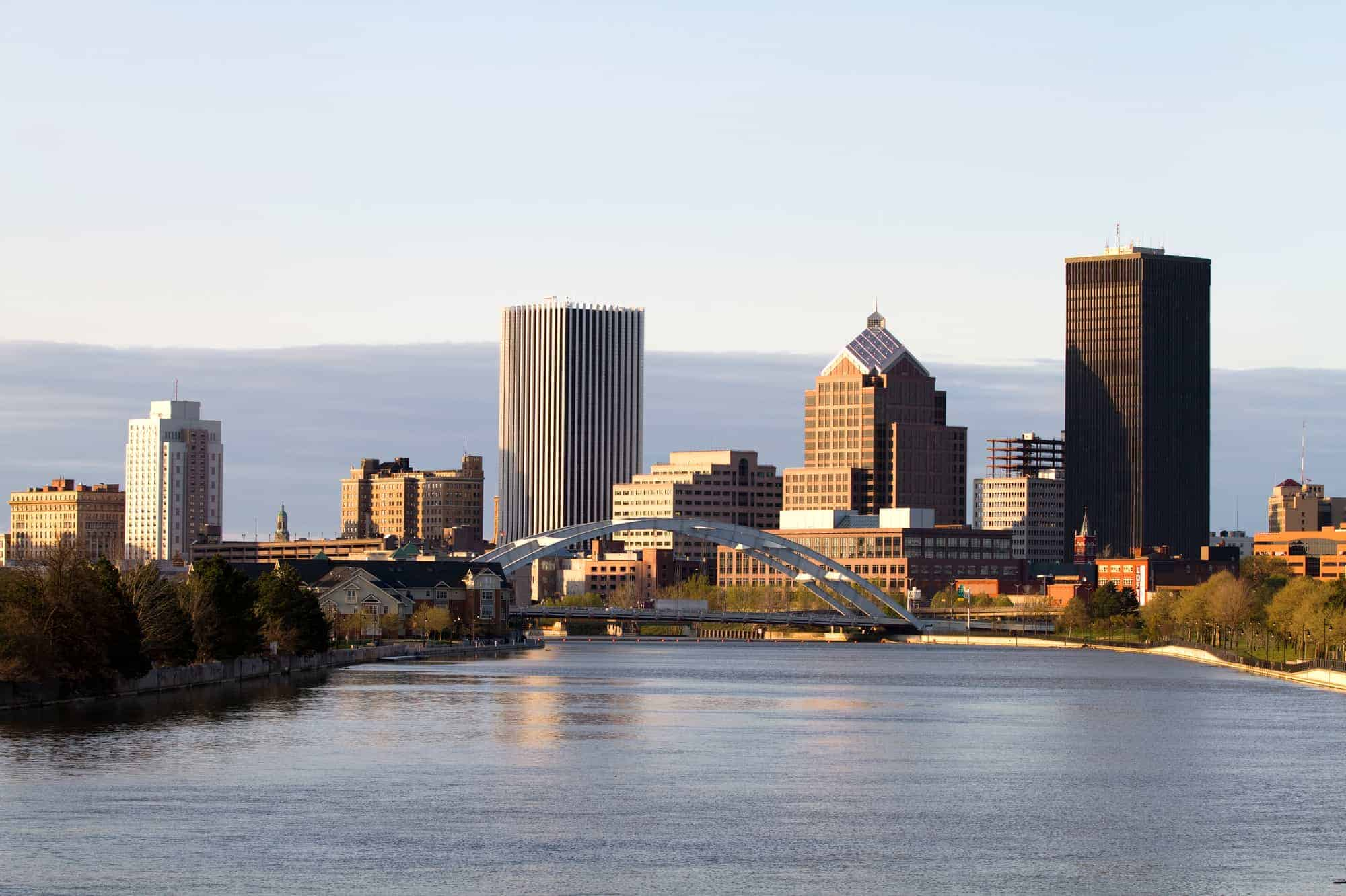 Website Design & SEO rochester new york skyline